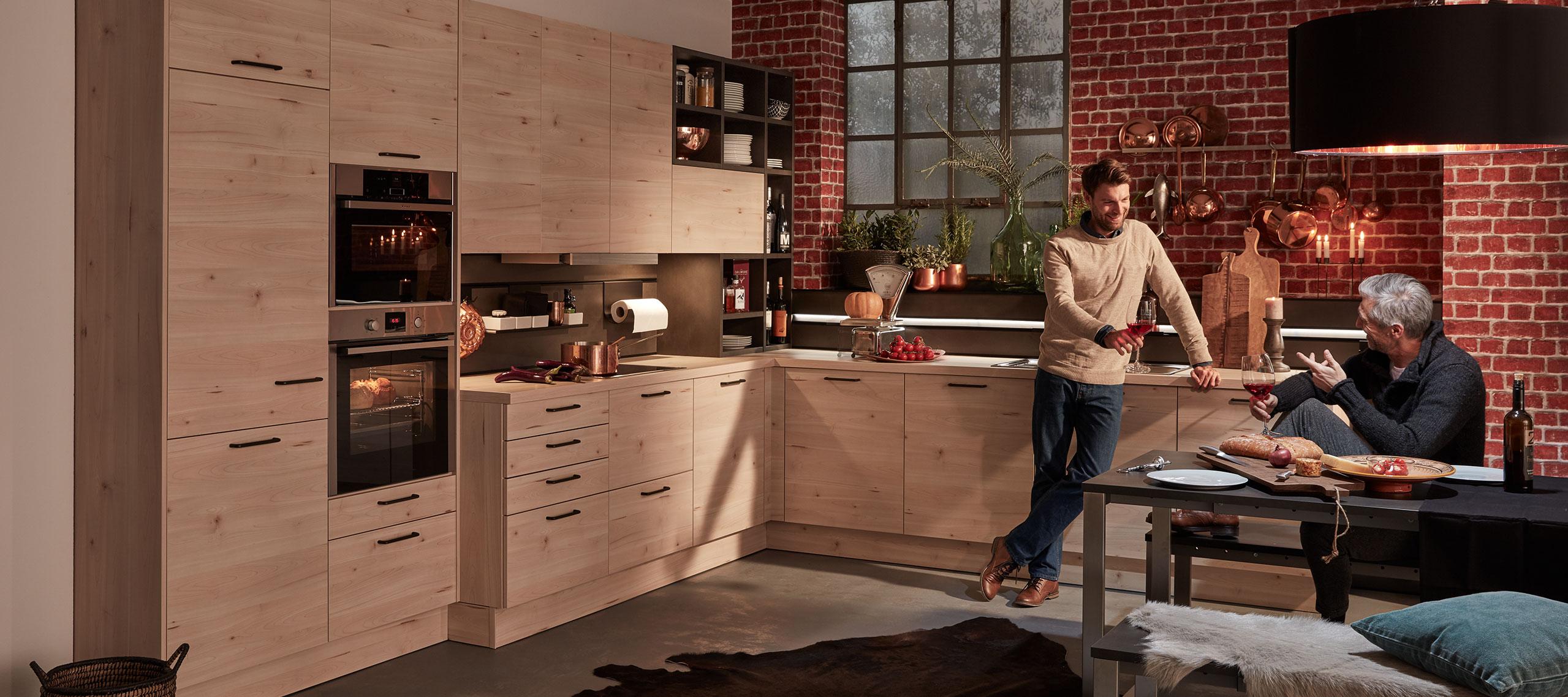 interline k chen die qualitativ hochwertige k che mit stil. Black Bedroom Furniture Sets. Home Design Ideas