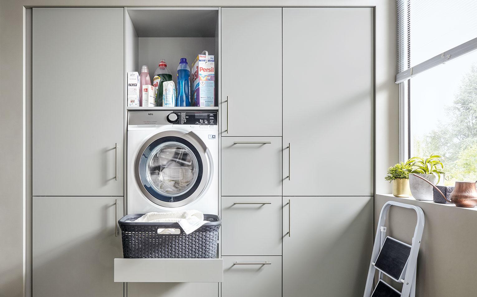 Trend Hauswirtschaftsraum Perfekt Organisiert Sauber Verstaut